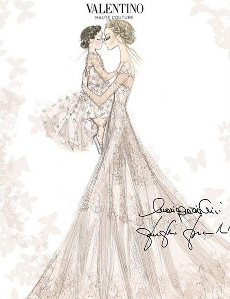 Frida Giannini marries Patrizio di Marco wearing Valentino   Harper's Bazaar