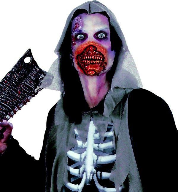 Deze zombie mond voor volwassenen zal ideaal geschikt zijn om een Halloween kostuum op originele en enge manier af te maken! - Nu verkrijgbaar op Vegaoo.nl
