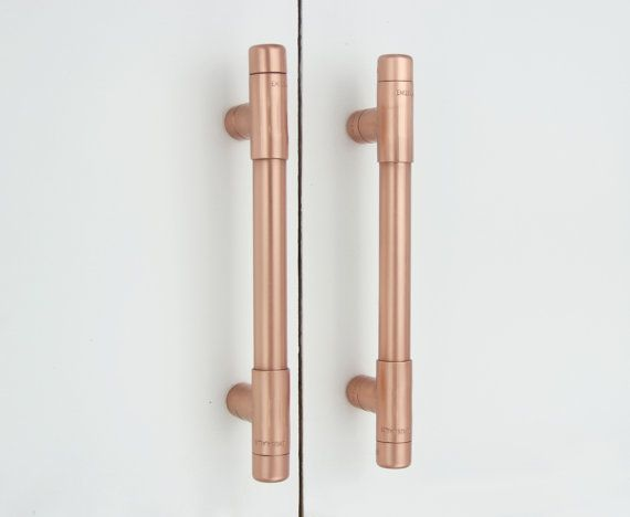 Modern Copper T Pull Handle Drawer Cabinet Hardware Kitchen Cupboard Pulls Handles S And Cove Pinterest