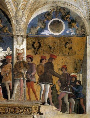 11 best palazzo ducale mantova camera degli sposi images for La corte dei gonzaga mantegna