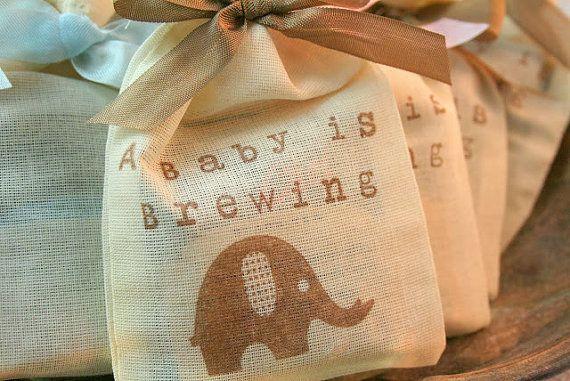 Tea Bag Favors Fully Assembled Baby Shower by SeasonalDelightsBaby, $24.50