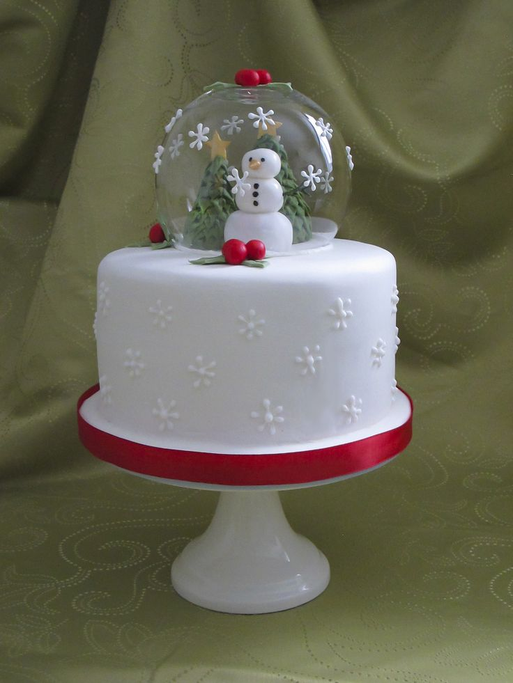 Snow globe cake | Leisl | Flickr