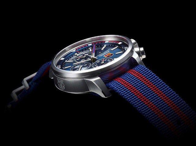 Los jugadores del FC Barcelona reciben sus nuevos relojes Maurice Lacroix