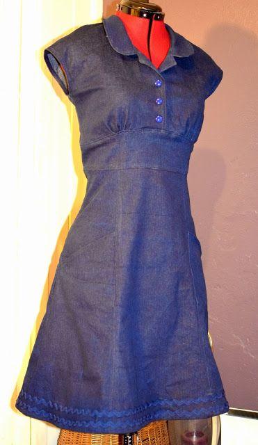 Helles Syskrin: En ganske så enkel jeanskjole