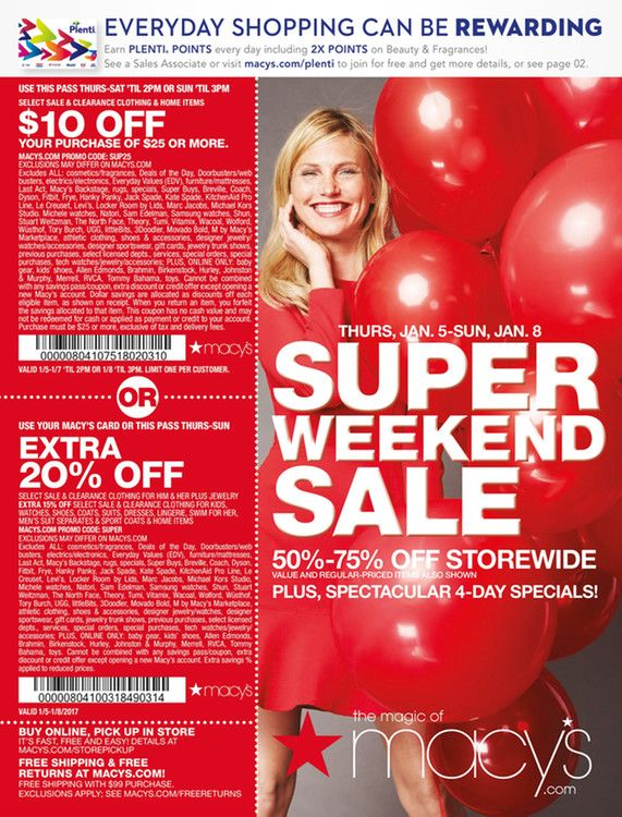 macy's one day sale memorial day