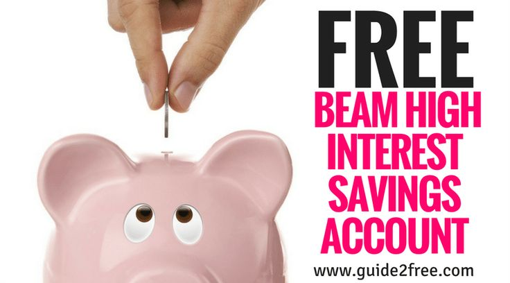 Sign up for a FREE Beam High Interest Savings Account: Earn 2-4% APY With No Fees!  You can get on the waitlist now to get a spot once they go live.Beam is a new high interest account that is FDIC insured and has no fees. They claim that they will offer users anywhere from 2-4% APY which would be some of the highest rates of any bank.  According to their FAQ they have zero fees and will never charge any.