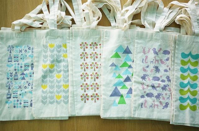 cotton bags by PataPri, via Flickr