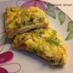 Omelette ai fiori di zucca nichel-free