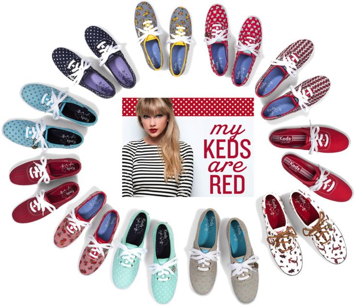 The whole Collection of Taylor Swift Keds!