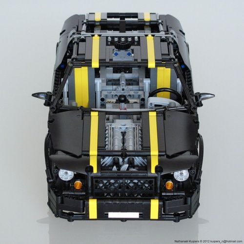 Pony Car: A LEGO® creation by Nathanael Kuipers : MOCpages.com