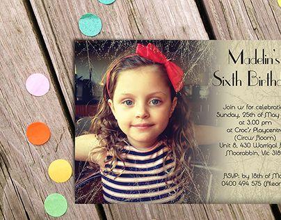"Check out new work on my @Behance portfolio: ""Kids Birthday Invitations"" http://be.net/gallery/32628233/Kids-Birthday-Invitations"