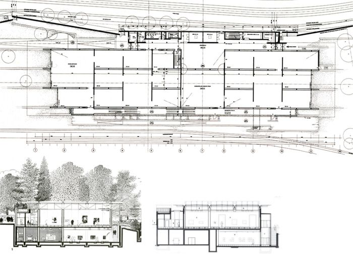 Beyeler museum renzo piano museums pinterest renzo for Spatial analysis architecture