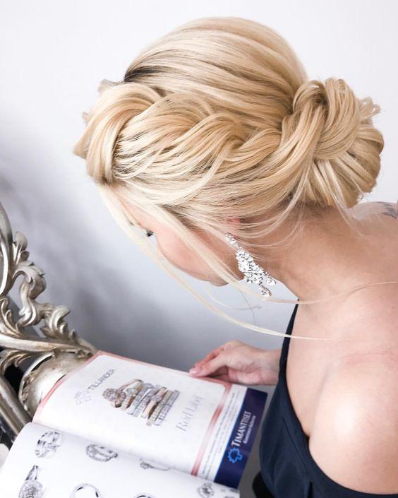Mode nuptiale: superbes coiffures de mariage - 2019