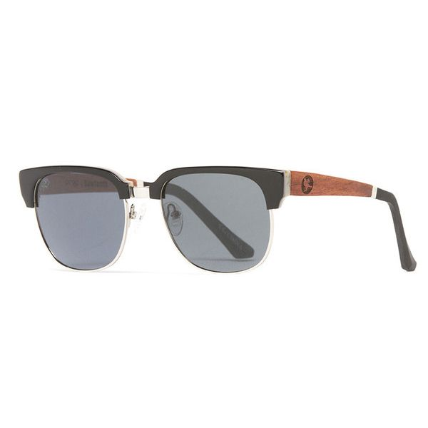 The Proof 'Sawtooth' wooden sunglasses. Made from real wood & plant-based materials. VERY cool.