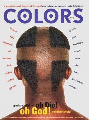 Redazionale - Oliviero Toscani Studio Copertina #Colors oh God!