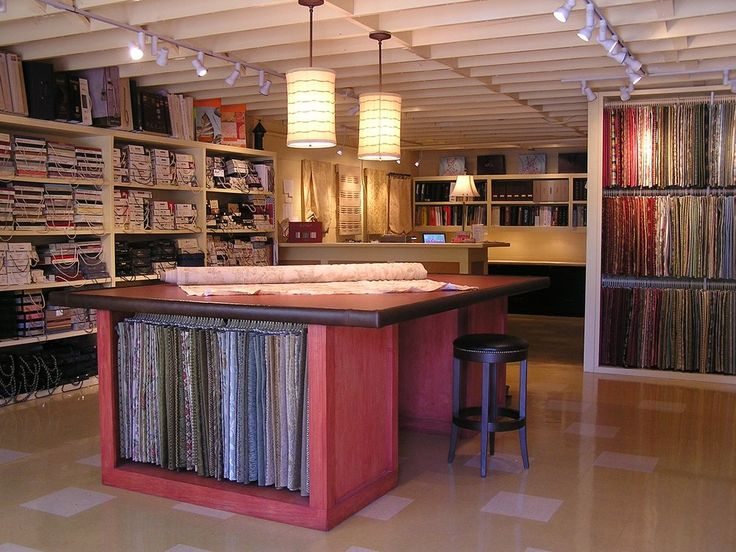 Pollin's Interiors and Custom Upholstery - Napa, CA, United States. Our showroom offers the largest fabric sample library in the North Bay.
