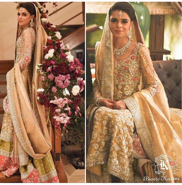 Pakistani bridal by Bunto Kazmi.