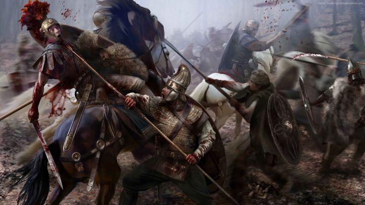 total war attila wallpaper games