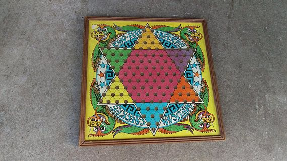 chinese checkers board game woodenking foo checkersfamily