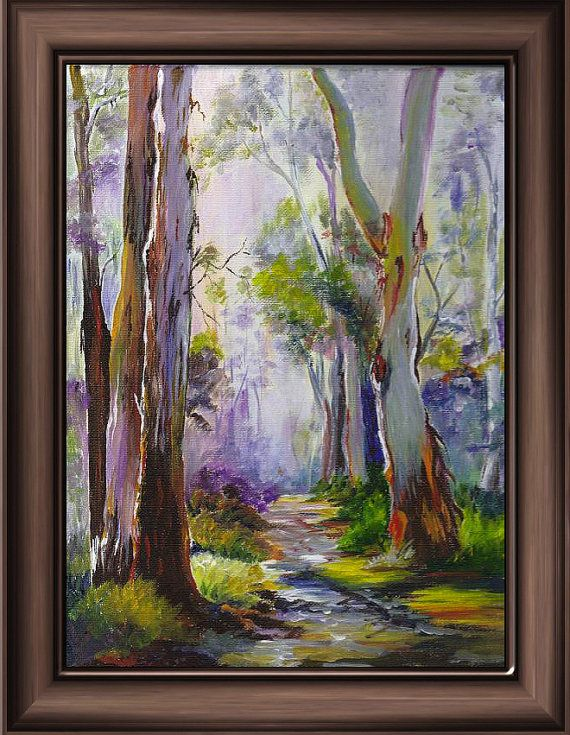 Art Print 'A Walk in the Australian Bush' by tervern on Etsy, $30.00