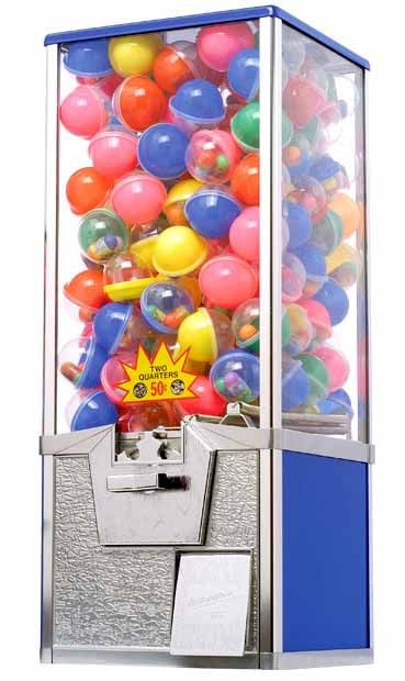 Toy Capsule Vending Machines For Sale http://www.gumballmachinesdirect.com/