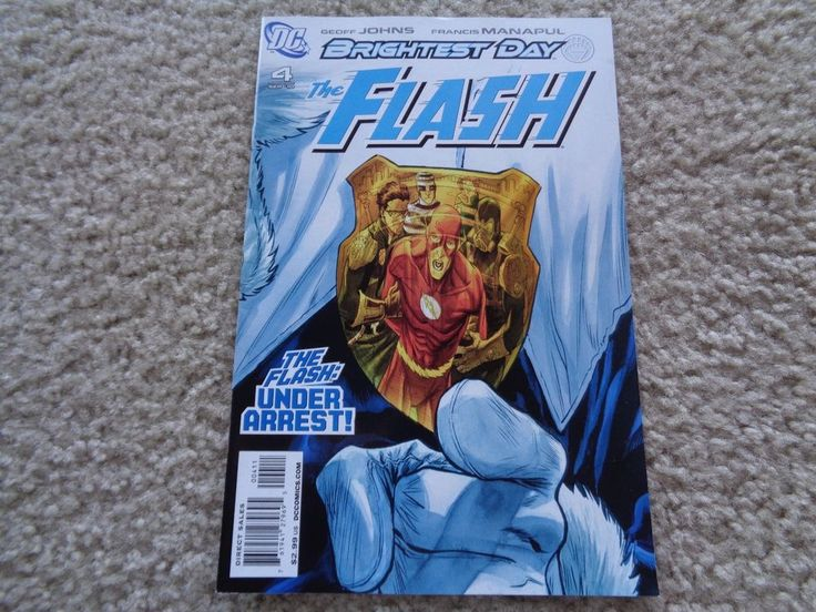 DC Comics Brightest Day The Flash # 4 September 2010