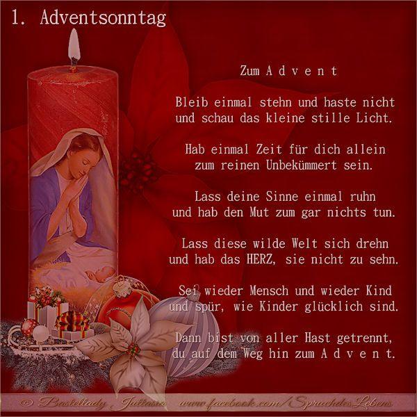 Besinnliche texte zu advent und weihnachten