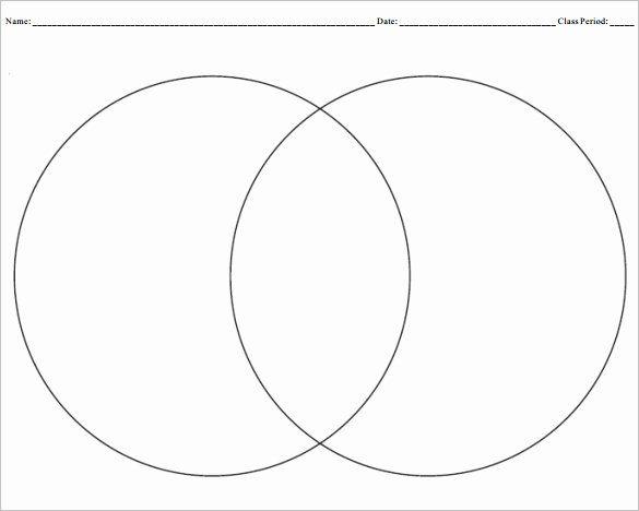 Venn Diagram Template Doc Best Of Blank Venn Diagram that