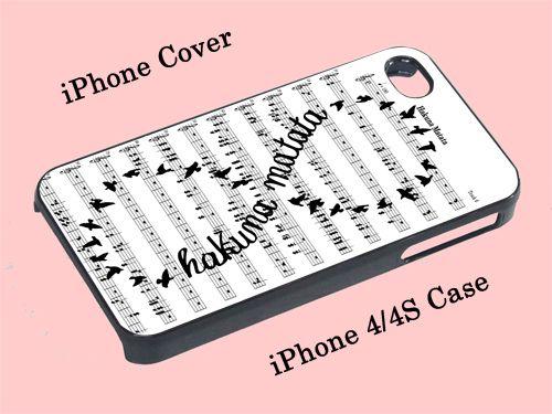 Hakuna Matata Infinity Song - iPhone 4/4S Case