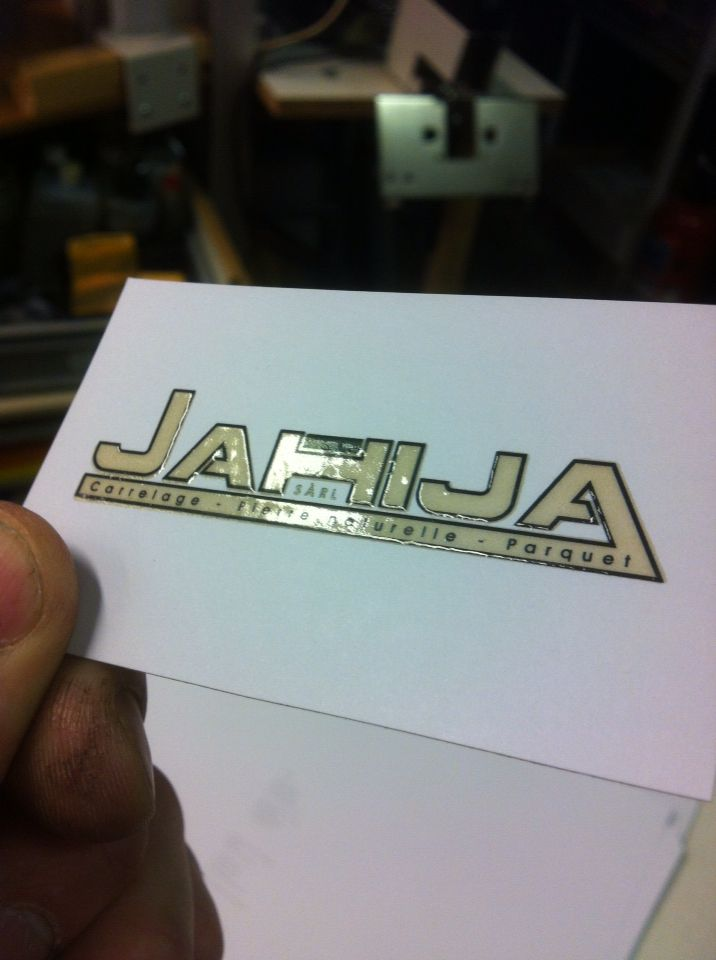 Thermo Relief Business Card