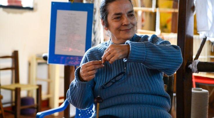 Essere, pregare e tessere: Chiara Vigo racconta i segreti del mare