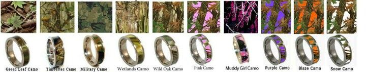 Camouflage Rings