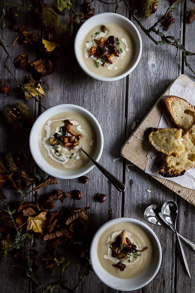Celeriac and Apple Soup and Robert Welch Signature Q