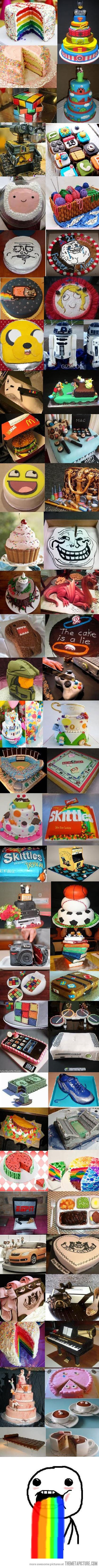 Cakes cakes & more cakes