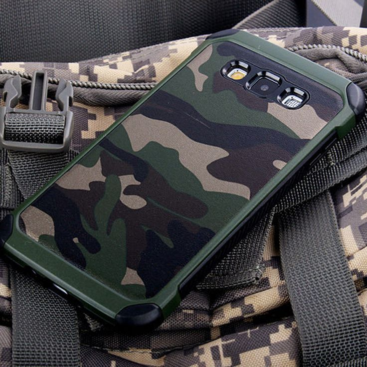 Army Camo Camouflage Pattern back cover Hard Plastic TPU Armor Anti-knock case For Samsung Galaxy J5 Prime 2015 2016 J500 J510