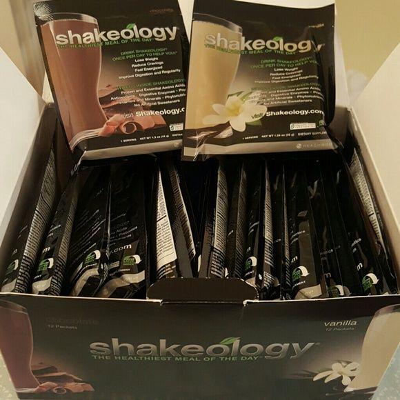 Shakeology 1 box. 12 Chocolate 12 vanilla. Brand new. Expiration 04/30/2016 shakeology  Other