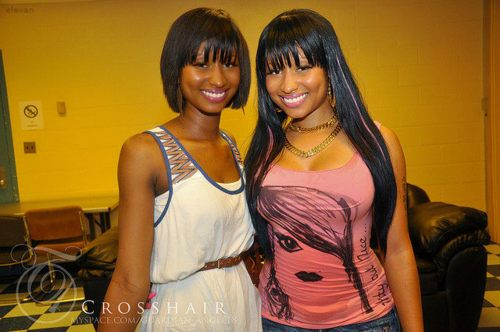 Nicki Minaj And Her Twin Sister Google Search Cute Pinterest Twin Sisters Search And