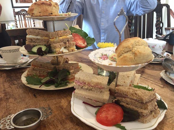 Pettigrew's afternoon tea, Cardiff.