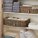 Keep your linens organised - Here are a few easy DIY tips to help you get started on organising a linen closet: http://www.easydiy.co.za/index.php/maintain/247-keep-your-linens-organised