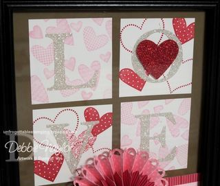 Unfrogettable Stamping | Stampin' Up!  Valentine's Day Love project 2012-02-11  www.unfrogettablestamping.typepad.com: Valentine Day, Valentines Day, Projects 20120211
