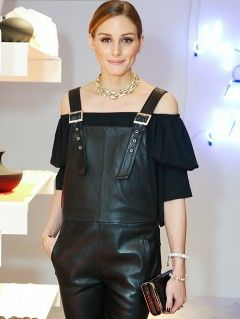 Only Olivia Palermo Could Make Overalls Look Formal