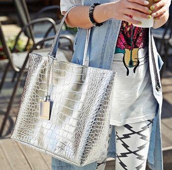 Summer HOT Alligator Shoulder Bag Bolsas Femininas Designer Handbag Bolsas De Marca Superme Bags Handbags Women Famous Brands