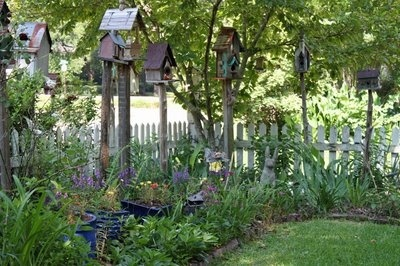 birdhouses gardenscapes-gates-fences