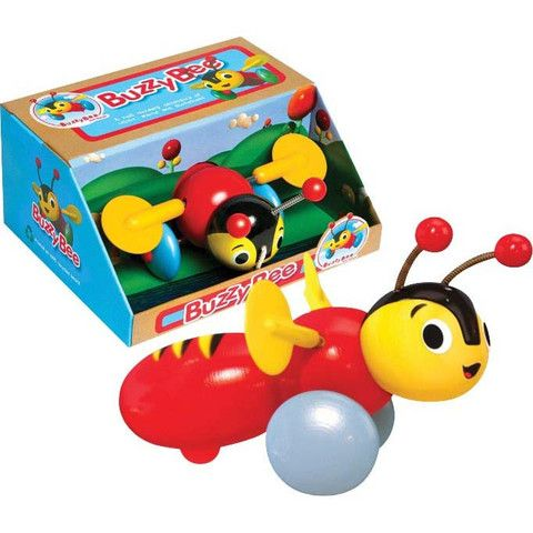 Buzzy Bee Genuine Pull Along Toy