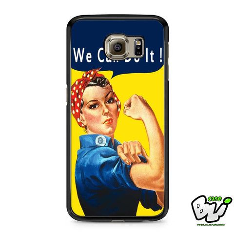Rosie The Riveter We Can Do It Samsung Galaxy S7 Case
