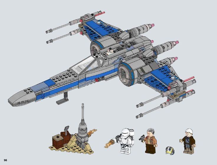 Lego Star Wars B Wing Fighter Instructions