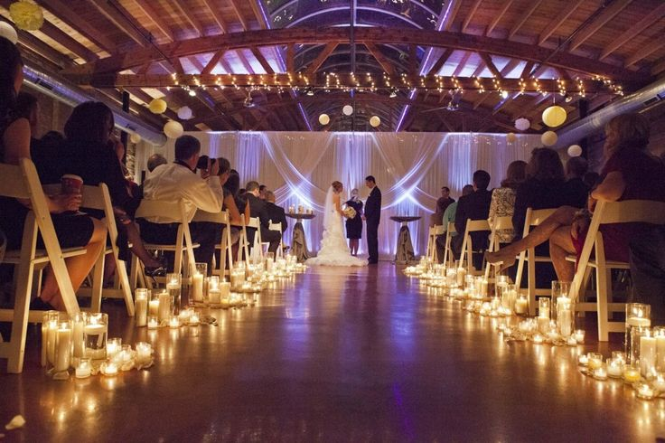 Beautiful Wedding Ceremony Decorations | Beautiful Wedding Ceremony Decor  Winter Wedding Chapel Decorations | Wedding Venue Decor | Pinterest |  Wedding ...
