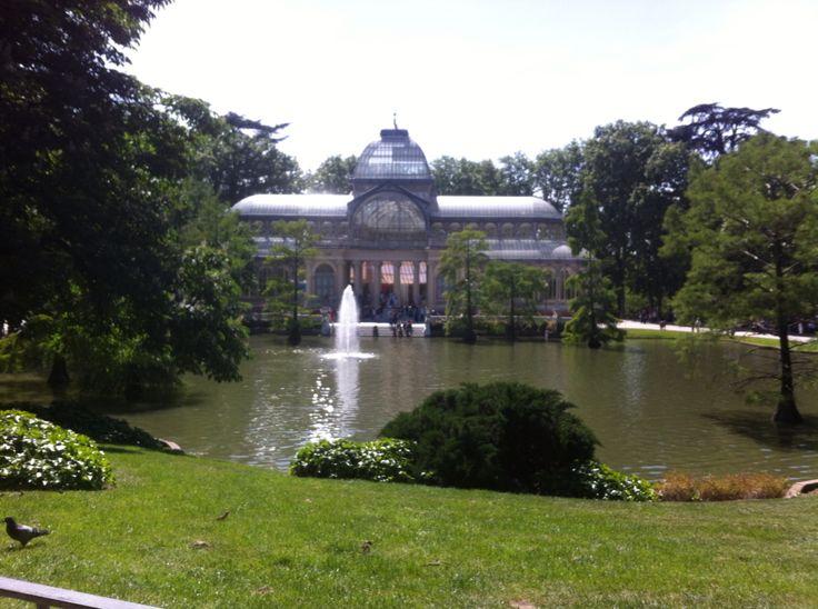 Palacio de Cristal - Parque del Retiro (Madrid)