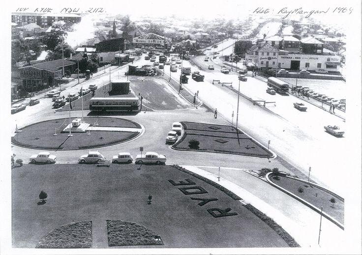 Top Ryde precinct in 1969.