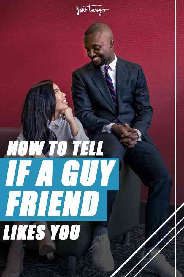 signs a guy friend likes you